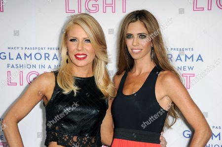 Gretchen Rossi, Lydia McLaughlin arrive at the Macy's Passport's Glamorama at The Orpheum Theatre on in Los Angeles