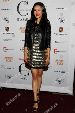 Kelly Choi attends the premiere of Mademoiselle C at the Florence Gould Hall on in New York