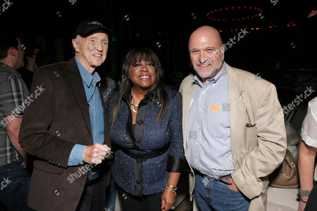 """Haskell Wexler, Chaz Ebert and Andrew Davis attend Magnolia Pictures' Los Angeles Premiere of """"Life Itself"""" at the Warwick on in Hollywood, California"""