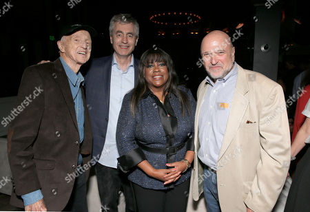 """Haskell Wexler, Steve James, Chaz Ebert and Andrew Davis attend Magnolia Pictures' Los Angeles Premiere of """"Life Itself"""" at the Warwick on in Hollywood, California"""