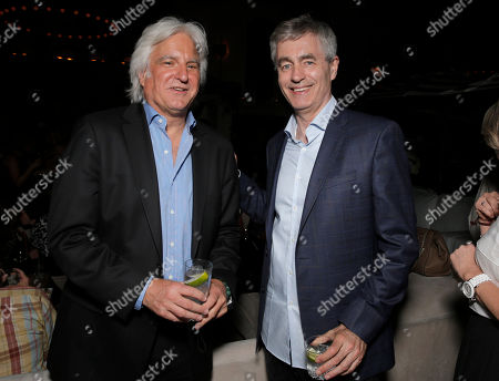 """Executive Producer Mark Mitten and Steve James attend Magnolia Pictures' Los Angeles Premiere of """"Life Itself"""" at the Warwick on in Hollywood, California"""