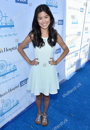 Tiffany Espensen attends the Mattel Party on the Pier, in Santa Monica, Calif