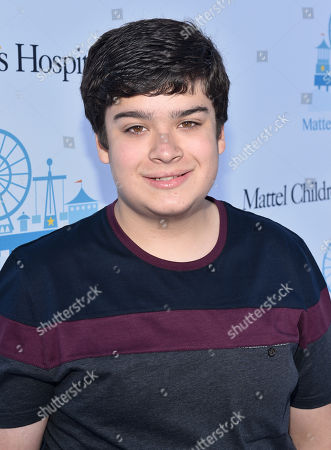 Stock Image of Devan Leos attends the Mattel Party on the Pier, in Santa Monica, Calif