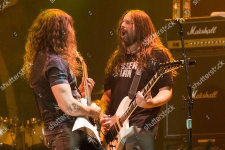 Editorial image of Metal Allegiance in Concert - , CA, Anaheim, USA - 21 Jan 2015