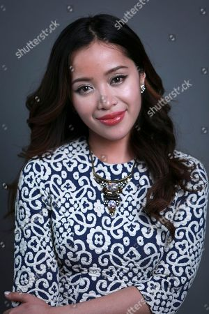 YouTube personality best known for her make-up demonstrations, Michelle Phan poses for a portrait on in New York