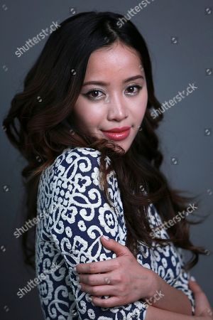 Stock Picture of YouTube personality best known for her make-up demonstrations, Michelle Phan poses for a portrait on in New York
