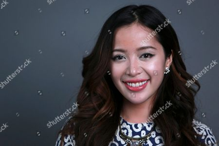 Stock Photo of YouTube personality best known for her make-up demonstrations, Michelle Phan poses for a portrait on in New York