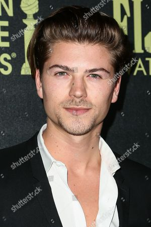 Amadeus Serafini attends the Miss Golden Globe InStyle Party held at Ysabel, in West Hollywood, Calif