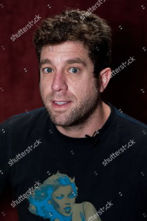 "Elliott Yamin attends Reggie Benjamin's ""Mission Save Her"" recording session, in Los Angeles"