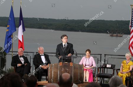Editorial photo of Moet Hennessy Celebration of the Hermione Voyage 2015, Mount Vernon, USA - 9 Jun 2015