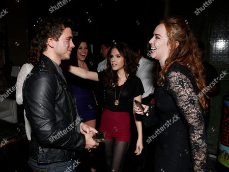 Camryn Grimes attend a surprise birthday party for MTV Teen Wolf's Stephen Lunsford presented by Monster Energy Drinks on in Los Angeles, CA