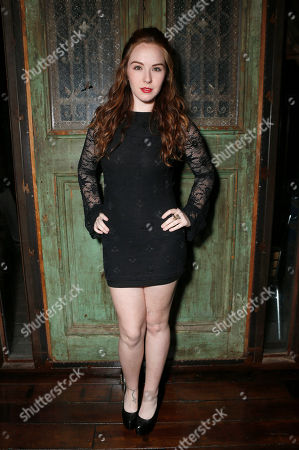 Camryn Grimes attends a surprise birthday party for MTV Teen Wolf's Stephen Lunsford presented by Monster Energy Drinks on in Los Angeles, CA