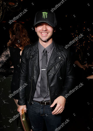 Stephen Lunsford attends a surprise birthday party for MTV Teen Wolf's Stephen Lunsford presented by Monster Energy Drinks on in Los Angeles, CA