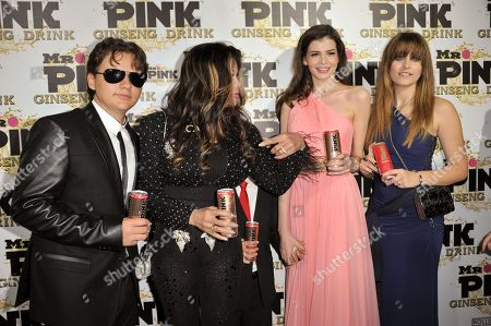 Editorial picture of Mr. Pink Ginseng Launch Party, Beverly Hills, USA - 11 Oct 2012