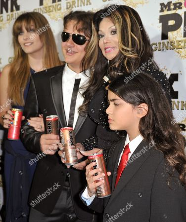 Editorial photo of Mr. Pink Ginseng Launch Party, Beverly Hills, USA - 11 Oct 2012