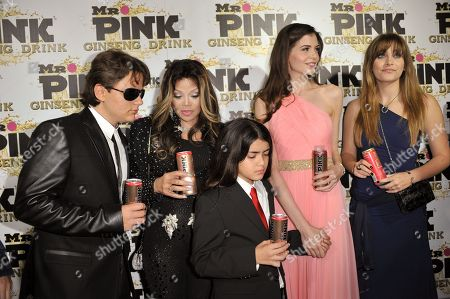 Editorial image of Mr. Pink Ginseng Launch Party, Beverly Hills, USA - 11 Oct 2012