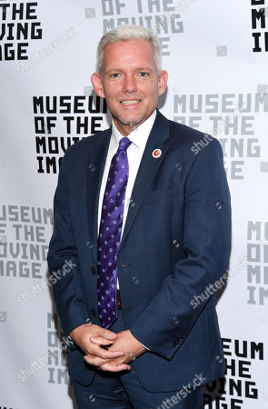 NYC Councilman Jimmy Van Bramer attends the Museum of the Moving Image's 2016 Industry Tribute at the St. Regis Hotel, in New York