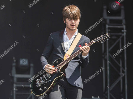 Josh McClorey as The Strypes performs during Music Midtown 2014 at Piedmont Park, in Atlanta