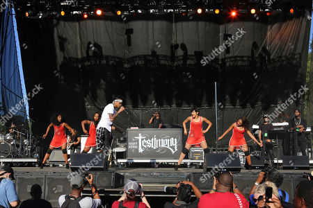 August Alsina performs during Music Midtown 2015 at Piedmont Park, in Atlanta