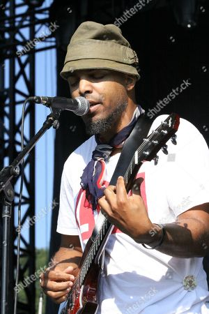 Van Hunt performs at Piedmont Park, in Atlanta