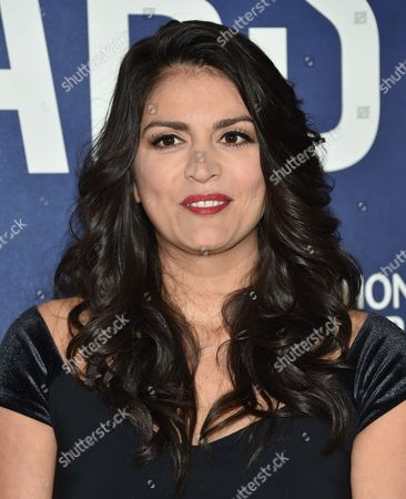 """Cecily Strong attends the premiere of National Geographic Channel's, """"Years of Living Dangerously"""", at the American Museum of Natural History, in New York"""
