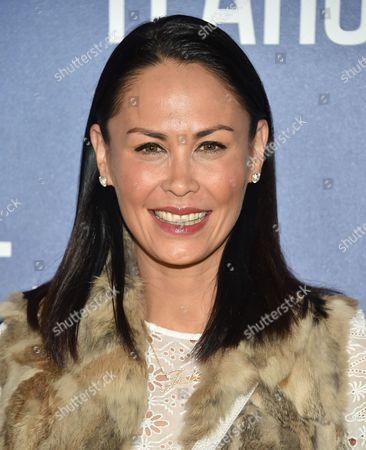 """Stock Photo of Television personality Jules Wainstein attends the premiere of National Geographic Channel's, """"Years of Living Dangerously"""", at the American Museum of Natural History, in New York"""