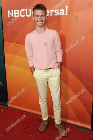 Chase Chrisley attends the NBC 2014 Summer TCA held at the Beverly Hilton Hotel, in Beverly Hills, Calif