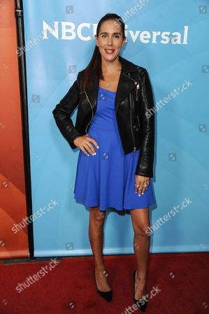Stock Picture of Jaime Primak Sullivan attends the NBC 2014 Summer TCA held at the Beverly Hilton Hotel, in Beverly Hills, Calif