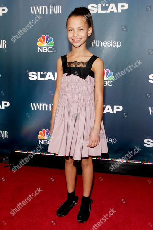 """Ashley Aufderheide attends NBC's """"The Slap"""" miniseries premiere party at the New Museum, in New York"""