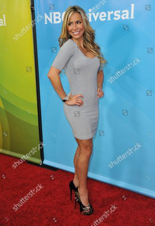 Aylin Mujica seen at the NBC/Universal Winter 2014 TCA on in Pasadena, Calif