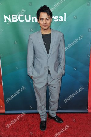 Stock Photo of Archie Kao seen at the NBC/Universal Winter 2014 TCA on in Pasadena, Calif
