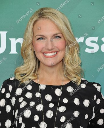 Stock Picture of Monica Pedersen seen at the NBC/Universal Winter 2014 TCA on in Pasadena, Calif