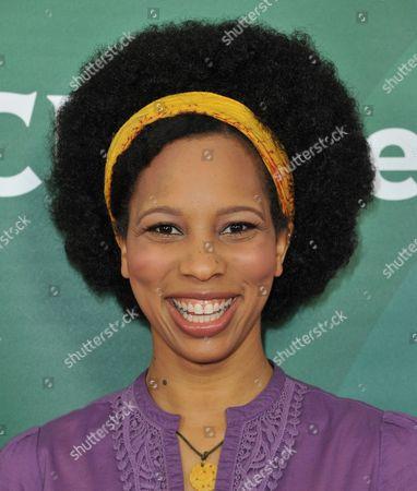 Stock Image of Dennisha Pratt seen at the NBC/Universal Winter 2014 TCA on in Pasadena, Calif