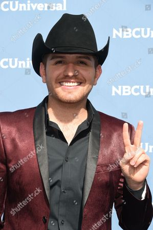 El Dasa attends the NBCUniversal 2016 Upfront Presentation at Radio City Music Hall, in New York