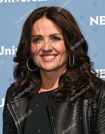 Jenni Pulos attends the NBCUniversal 2016 Upfront Presentation at Radio City Music Hall, in New York