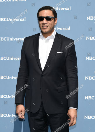 Harry Lennix attends the NBCUniversal 2016 Upfront Presentation at Radio City Music Hall, in New York