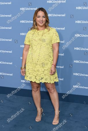 Adamari Lopez attends the NBCUniversal 2016 Upfront Presentation at Radio City Music Hall, in New York