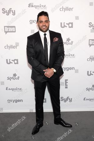 Stock Photo of Mike Shouhed attends the NBCUniversal Cable Entertainment 2015 Upfront at The Javits Center, in New York