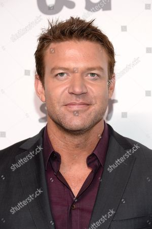 Actor Matt Passmore attends the NBCUniversal Cable Entertainment 2015 Upfront at The Javits Center, in New York