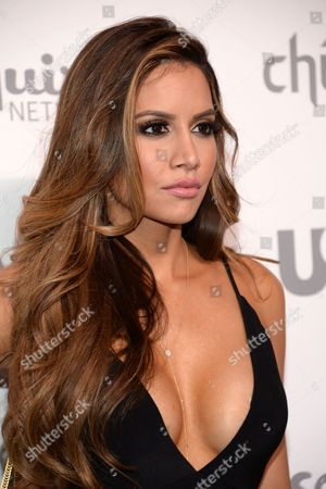 Asifa Mirza attends the NBCUniversal Cable Entertainment 2015 Upfront at The Javits Center, in New York
