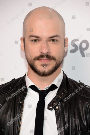 """Marc Andre Grondin of """"Spotless"""" attends the NBCUniversal Cable Entertainment 2015 Upfront at The Javits Center, in New York"""