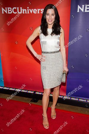Stock Photo of Jaime Murray arrives at the NBCUniversal New York Summer Press Day event at The Four Seasons Hotel, in New York
