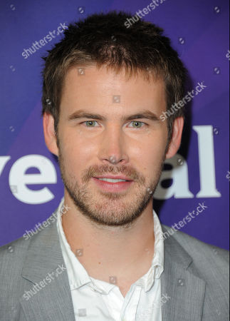 Zach Cregger attends NBCUniversal's 2012 Summer Press Tour at the Beverly Hilton Hotel, in Beverly Hills, Calif