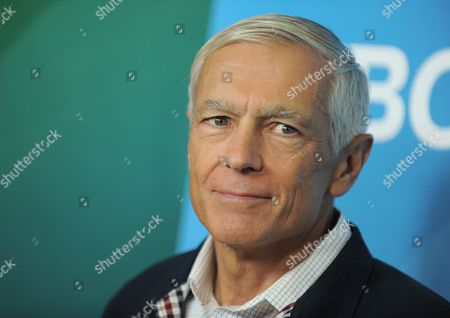 Stock Image of General Wesley Clark attends NBCUniversal's 2012 Summer Press Tour at the Beverly Hilton Hotel, in Beverly Hills, Calif