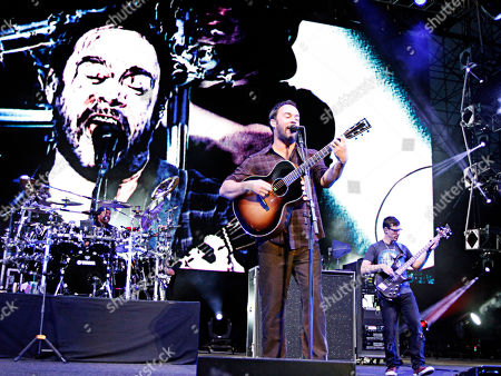 Dave Matthews Band performed at day three of the NCAA Final Four Big Dance Concert in Centennial Olympic Park on in Atlanta, Ga. Photo by Dan Harr/Invision/AP