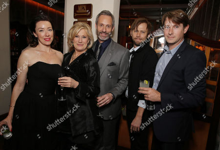 Molly Parker, Jayne Atkinson, Michel Gill, Jimmi Simpson and Derek Cecil seen at Netflix 'House of Cards' Los Angeles Season 2 Special Screening, on Thursday, Feb, 13, 2014 in Los Angeles