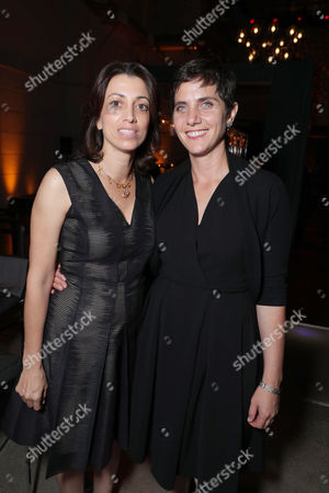 Laura Ricciardi and Moira Demos seen at Netflix 2016 Emmy Party at NeueHouse, in Los Angeles