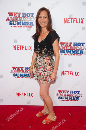 """Marisa Ryan attends the premiere of Netflix's new original series, """"Wet Hot American Summer: First Day of Camp"""", at the SVA Theater, in New York"""