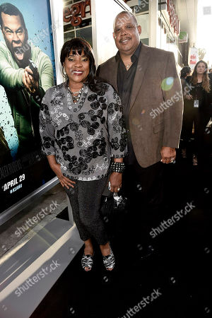 """Loretta Devine and Glenn Marshall seen at New Line Cinema Los Angeles Premiere of """"Keanu"""" at ArcLight Cinerama Dome Theater, in Hollywood"""
