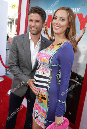 Kyle Martino and Eva Amurri Martino seen at the New Line Cinema Premiere of 'Tammy' held at the TCL Chinese Theatre on ], in Hollywood